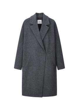 ◆ Tailored Wool Blend Long Coat