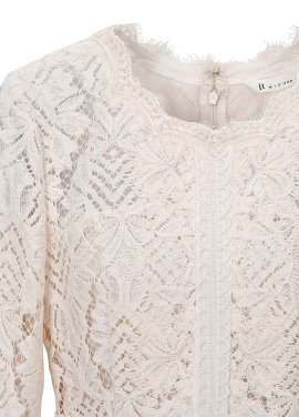 ♠ Bell Sleeve Lace H-Line Dress(주문폭주)