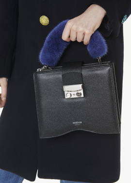 [THESUIN /FW 기간한정 20%세일]MINK HANDLE WRAP. BLUE