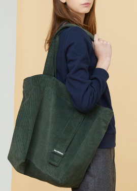 [MILLOGLEM/17FW신상/10%+5%COUPON] corduroy logo bag - green