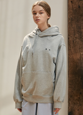 [ANEDIT/17FW/5%+5%COUPON]B BELIEVE HOOD SWEAT_GY