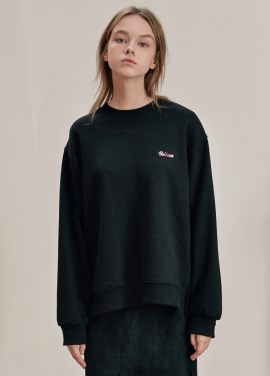 [ANEDIT/17FW/5%+5%COUPON]B BACK LAYERED SWEAT_BK