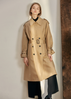 [ANEDIT/17FW/5%+5%COUPON]B TRENCH COAT_BE