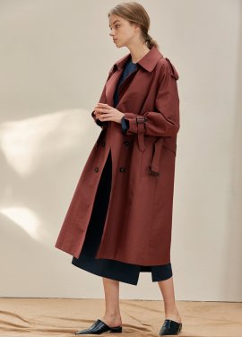 [ANEDIT/17FW/5%+5%COUPON]B TRENCH COAT_WN