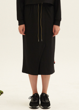 WARM TECH LONG SKIRT(BK)