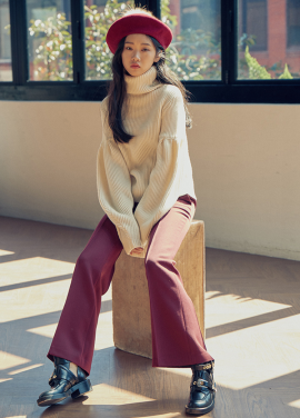 [LAFETE]Wool Knit White