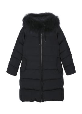 Oversized Raccon Fur Duckdown <br>Long Padding