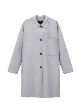 Handmade Single Button Coat