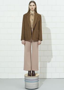 Wool Blend Check Jacket [조보아/모모 착용]