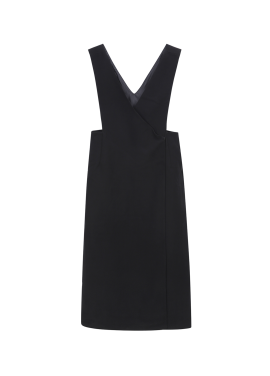 Wrap Style Long Dress