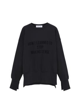 Slit Detail Sweatshirts