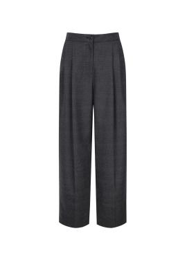Pintuck Baggy Pants