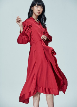 [AMELIE/5%SALE] PIANO DRESS_RED