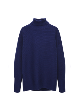 Loose-Fit Pola Pullover