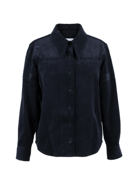 [5%할인추가할인 / DONADONA]Corduroy Shirts_Navy