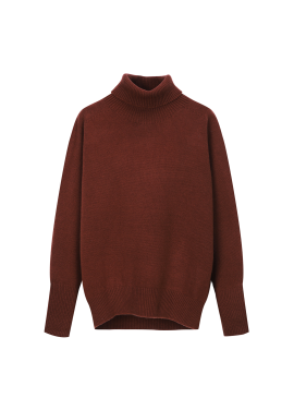 Wool Loose-Fit Basic Pola Pullover [장희진 착용]