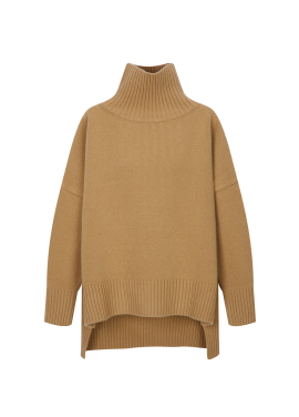 Cashmere Blend Oversized Pullover