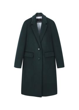 Tailored Collar Long Coat