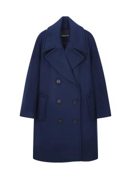 Wide Collar Oversized Coat