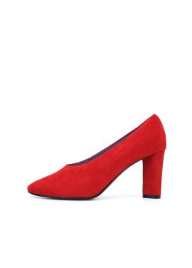 Suede Color Pumps Shoes