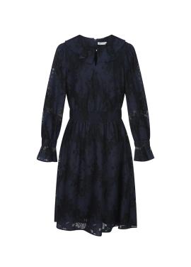 Lace Waist Bending Dress