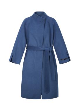 ◆ Wool Blended High Neck Long Coat(주문폭주)