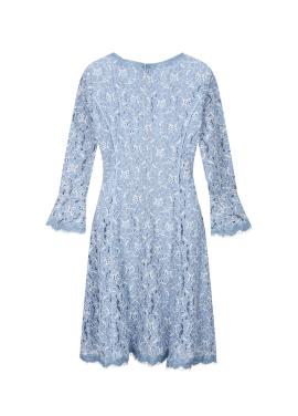 ◆ S-Line Lace Dress