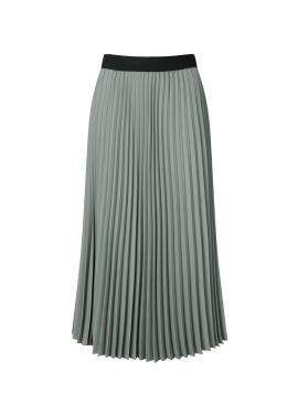 Chiffon Pleats Long Skirt