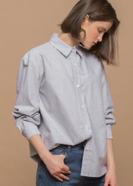 [URAGO/18SS신상 5%쿠폰] 스트라이프 셔츠