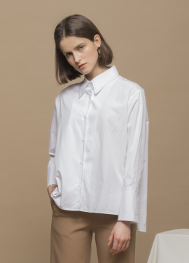 [URAGO/18SS신상 5%쿠폰] 베이직 스티치 셔츠