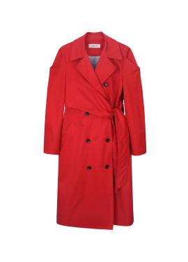 [30%할인+10%쿠폰] Strap Detail Long Trench Coat