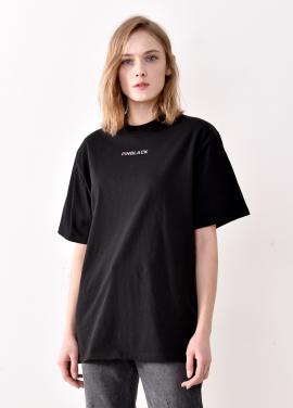 [PINBLACK/5%+5%SALE] signiture logo T-shirts BLACK