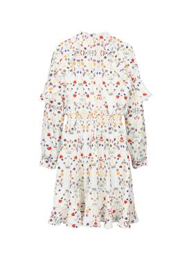 ◈ Spring Print Ruffle Dress