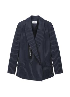 ★ Stripe Lettering Jacket <BR>[예약판매/3월5일 입고예정]