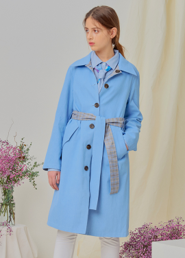 [NUPARCC/18SS 신상5%+5%쿠폰] Reversible Trench - BL&CH