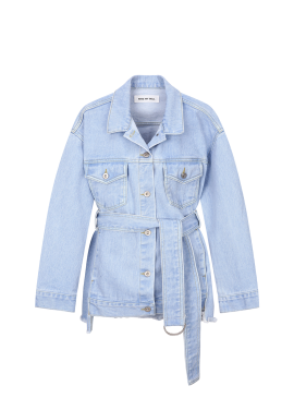[50%할인] Belted Denim Jumper