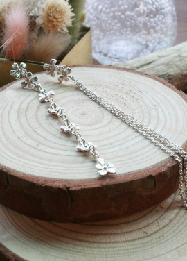 [IRIS JEWERLY/18SS 5%+5%쿠폰] 'The secret garden' silver Earring_3