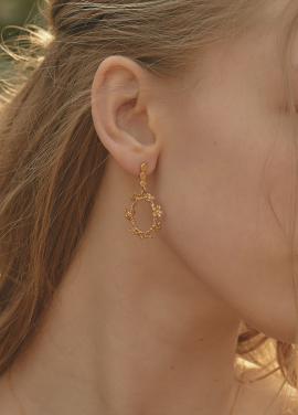 [IRIS JEWERLY/18SS 5%+5%쿠폰] 'The secret garden' Earring_7