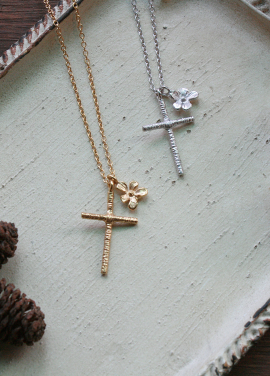 [IRIS JEWERLY/18SS 5%+5%쿠폰] 'The secret garden' the cross Necklace_5