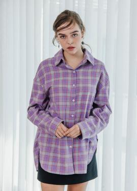 [SALON DE YOHN/18SS 5%+5%쿠폰] Check Boxy Shirt
