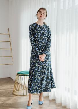 [SALON DE YOHN/18SS 5%+5%쿠폰] Floral Long Dress