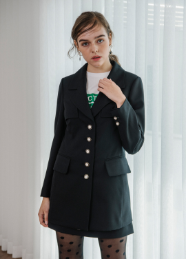 [SALON DE YOHN/18SS 5%+5%쿠폰] Black Classic Jacket