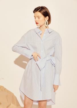 [30%할인+10%쿠폰] Check Shirts Dress