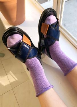 [IHATEMONDAY/15%할인+5%쿠폰] Glitter Comb Lavender
