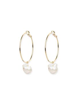 [DE LA LUNE/10%] Pearl Beans Earring[DL18SSER18GDF]
