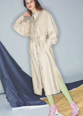 [WORKWEAR] WW  BALLOON SLIT TRENCH OPS