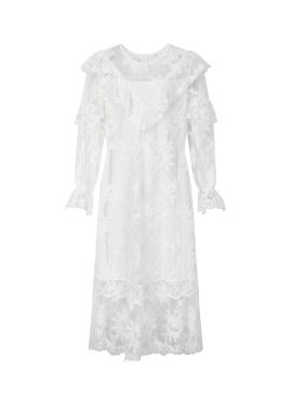 ◈Lace Layered Feminine Dress