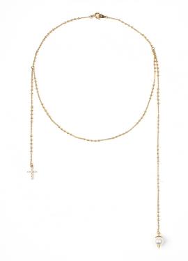 [DE LA LUNE/10%] Drop of god Necklace[DL18SSNC05MTF]
