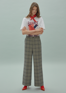 [SURREAL BUT NICE/5%쿠폰] Glen Check Pants
