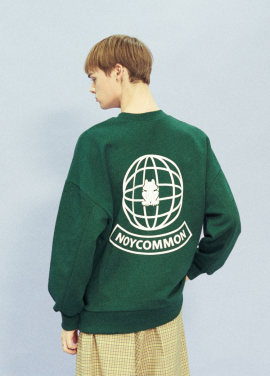 [18SS 신상 10% 할인/NOYCOMMON] YOUTH PLANET SWEATSHIRT GN [S, L(4/23일 예약순차배송)]